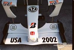 BAR front wing