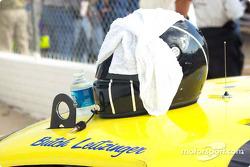 Butch Leitzinger's helmet