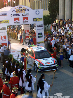 Colin McRae at the start