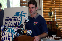 Jeff Gordon speaks to the media in advance of the first-ever Ford Championship Weekend, November 14-17 at Homestead-Miami Speedway