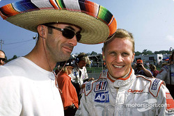 David Brabham and Johnny Herbert