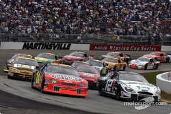 The start: Ryan Newman and Jeff Gordon lead the field