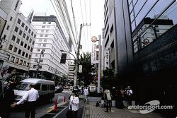 A street scene of Tokyo