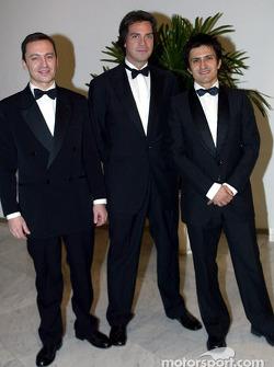 Christophe Bouchut, Stéphane Ratel, Stéphane Ortelli
