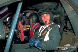 Volkswagen Tarek test drive, December 2002: Jutta Kleinschmidt