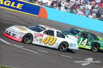 Derrike Cope and Mike Wallace