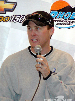 Race winner Kevin Harvick