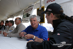 Autograph session: Bobby Rahal, Brian Redman and Kyle Petty