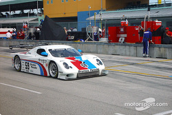 #59 Brumos Racing Porsche Fabcar: Hurley Haywood, J.C. France heads to starting grid