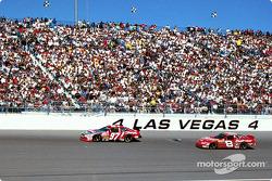 Kurt Busch and Dale Earnhardt Jr.