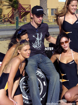 Jenson Button is already well integrated at BAR