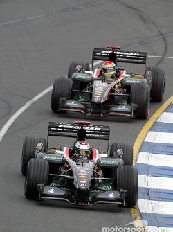 Jos Verstappen and Justin Wilson