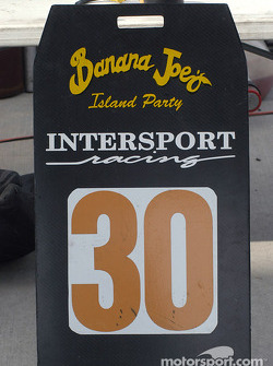 Intersport Racing pit area