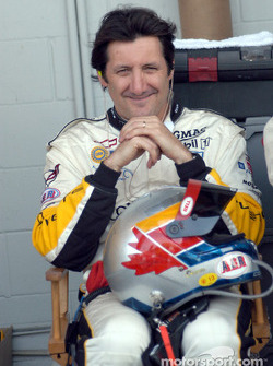 Ron Fellows waits for his turn