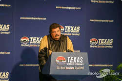Press conference: NASCAR COO Mike Helton