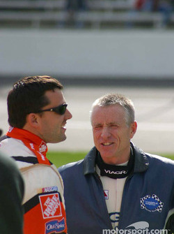 Tony Stewart and Mark Martin