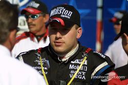 Race winner Ryan Newman on victory lane