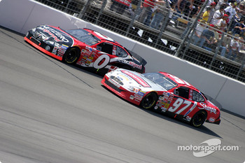 Kurt Busch and Jack Sprague