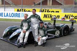 Johnny Herbert, David Brabham, Mark Blundell
