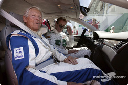 Paul Frère and Frank Biela in the Audi RS 6