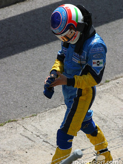 Jarno Trulli out of the race