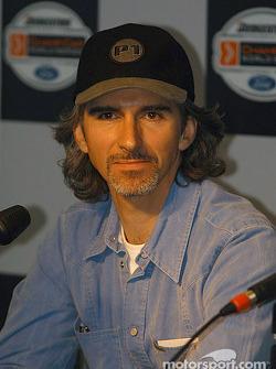 Press conference: Damon Hill