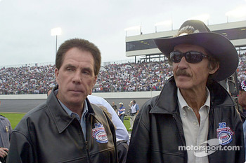 Darrell Waltrip and Richard Petty