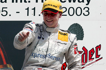 The podium: race winner Christijan Albers