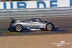 #61 Carsport America Pagani Zonda: Mike Hezemans, Anthony Kumpen, David Hart