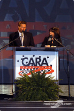 Dave Calabro and Beth Blackburn Boles, emcees
