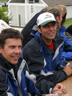 Autograph session: Scott Pruett and Tomy Drissi