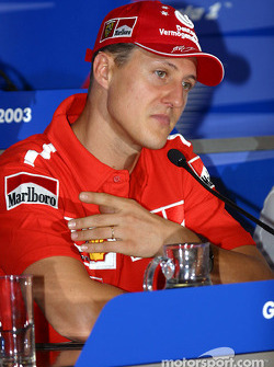 Wednesday FIA press conference: Michael Schumacher