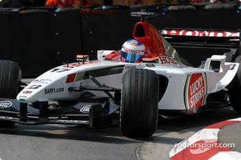 Jenson Button escaped serious injuries in 2003