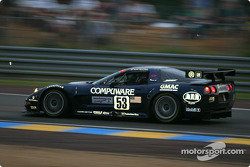 #53 Corvette Racing Gary Pratt Corvette-Chevrolet C5: Ron Fellows, Johnny O'Connell, Franck Freon