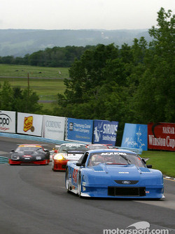 Pace lap: #48 Heritage Motorsports Mustang: Tommy Riggins, David Machavern, Scott Lagasse