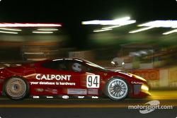 #94 Risi Competizione Ferrari 360 Modena: Terry Borcheller, Anthony Lazzaro, Ralf Kelleners on pitlane