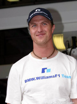 A happy Ralf Schumacher