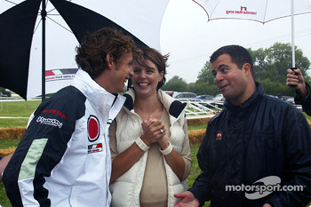 Honda lawnmower and ATV challenge: Jenson Button