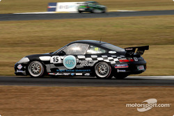 Former V8 driver Charlie OíBrien makes a welcome return to motor racing after a long absence