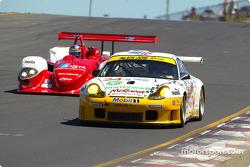 #24 Alex Job Racing Porsche 911 GT3 RS: Timo Bernhard, Jorg Bergmeister