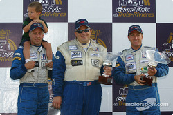 LMP675 podium: best private for #56 Team Bucknum Racing Pilbeam MP91 / Willman 6 of Jeff Bucknum, Bryan Willman, Chris McMurry