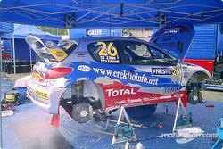 Ari Vatanen's Peugeot