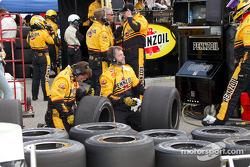 Panther Racing crew members