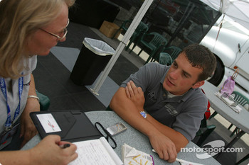 Bryan Sellers interviewed by Motorsport.com's Nancy Schilke