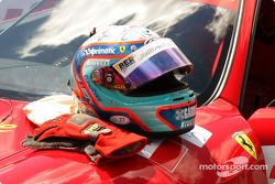 Andrea Bertolini's helmet