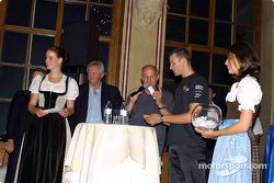 Media event in Palais Ferstel, Vienna: Alexander Wurz