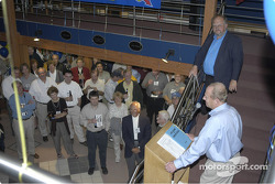 IMRRC - Auction - Woody Woodard says a few words