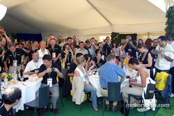 Jordan Paddock Club guests
