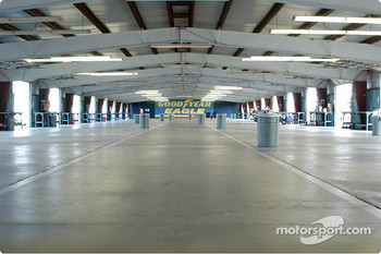 Empty garage