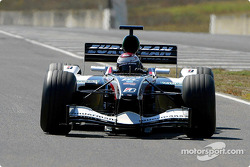 Minardi PS04 first step: Jos Verstappen